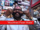 Having Paan From Muchhad Paanwala